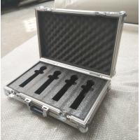 China 4 Pieces in 1 Microphone Flight Case and Tool Case Double-Box Aluminum Tool Box wholesale