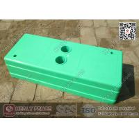 China Light Green Temporary Fencing Block Injection Molding | China Temp Fencing Block Factory wholesale