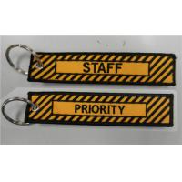 Priority Tag: Embroidered PRIORITY STAFF Key Tag/ Bag Tag Of Ec91095135