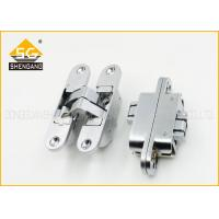 China 180 Degree Adjusted Invisible Door Hinges Support Copper / Brass Finishing wholesale