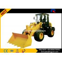 China 42KW Power Micro Wheel Loader Dumping Distance 910mm for Building Construction wholesale