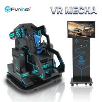 China Metal 9D Virtual Reality Simulator / Electric Car Simulator For 1 Player on sale