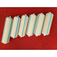 China Nylon Conveyor Rollers Fertilizer Plant Conveyor Belt Rollers Operate Silently wholesale