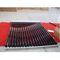 China swimming pool pressurized solar collector with heat pipe wholesale