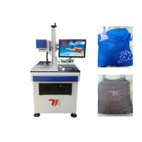 China T - Shirt Co2 Laser Marking Machine , Laser Printing Machine For Clothes wholesale