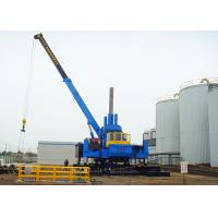 Quality Roadside Hydraulic Static Pile Driver , Pile Pressing Machines Energy Saving for sale