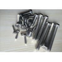 China Durable Stainless Steel Bolts Hexagonal Headed Bolt Injection Mould Plastic Part Process wholesale