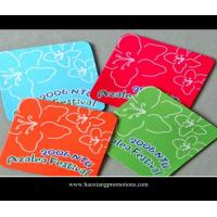 China new design wholesale coaster popular in Europe colorful slate coaster wholesale