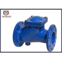 China Gearbox Brass Ball Check Valve DIN Standard , Flange Type Check Valve For Sewage wholesale
