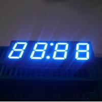 China Ultra Blue LED Clock Display , 7 Segment LED Display 4 Digit For Microwave Oven wholesale