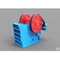 China V - Type Jaw Crusher Machine Deep Crushing Chamber Electrical Motor Drive wholesale