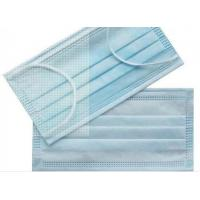 China Dust Prevention Disposable Surgical Mask , Disposable Earloop Face Mask wholesale