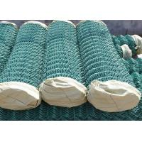China 100 Foot PVC Coated Chain Link Fence 5 X 5 CM For Garden Decoration wholesale