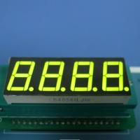 China 4X7 Segment Led Display , Common Cathode Seven Segment Display Green 0.56 inch wholesale
