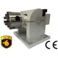 China 80mm Tilt Angle Rotary Axis For Laser Engraving Machine , Gear 8 : 1 wholesale