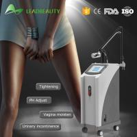 China 40W RF Excited Fractional Co2 Laser MachineFor Stretch Marks Removal / Laser Vaginal Tightening wholesale