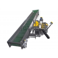 Quality BOPP Plastic Recycling Lines 55KW Pet Bottle Flakes Making Machine for sale
