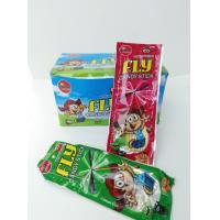 China Candy Stick With Fly Leaf and Sticker Combine Eating and Fun Kid's Love wholesale