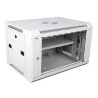 China Wall Mount Locking Server Small Network Cabinet Mobile Server Rack In White wholesale