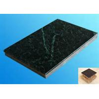 China Honeycomb Sandwich Panel Recyclable Real Stone Surface Natrual Texture wholesale