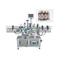 China Cosmetic Packaging Machinery 1mm Round Bottle Sticker Labeling Machine For Food Beverage wholesale