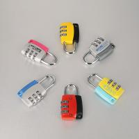 Quality Household Security Aluminium Combination Code Padlock 3 Digital Changeable for sale