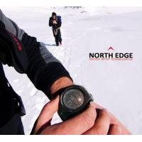 Quality NORTH EDGE Men Multifunction Outdoor Watches 3D Pedometer Barometer Altimeter Compass RIDGE for sale