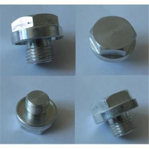 Aluminum oil drain plugs