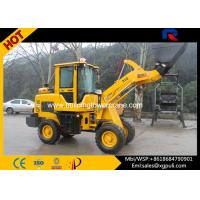 China Micro Wheel Loader 910mm Dumping Distance 360 Degree Rotate Seat wholesale