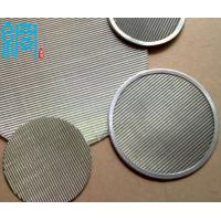 China Round Cut Wire Net For Melt Plastic Filtration wholesale