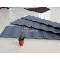 China Original Stone Coated Roofing Tiles , Steel Stone Coated Metal Roof Tile wholesale