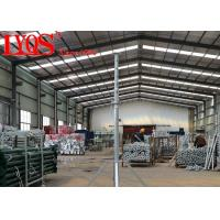 China Building Steel Shoring Posts , Heavy Duty Post Shores Temporary Support wholesale