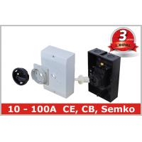 European Outdoor Rotary Disconnect Switch , Lockable 3 Position Rotary Switch