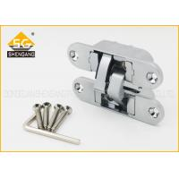 China 180 Degree Three Way Hidden Bookcase Door Hinge For Folding Doors on sale