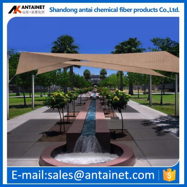 100% virgin HDPE shade net/ shade cloth/shade sail