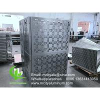 China Super Durable Aluminum Air Conditioner Cover  Outdoor  Indoor Powder Coated wholesale