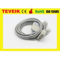 Wholesale 10 leads ECG cable with Banana 4.0 for Carewell EKG machine,IEC w/o resistor from china suppliers