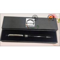 Quality Luxury Rigid Cover Office Paper Box , Hard Cardboard Pen Presentation Packaging Box for sale