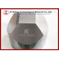 Wholesale Good toughness Tungsten Carbide Tools 6 facet anvil with HIP sintering techniques from china suppliers