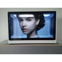 China Digital Transparent LCD Showcase 22 Inch Size Infrared / Capacitive Touch Screen wholesale