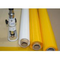 China Low Elasticity 102 Inch Polyester Bolting Cloth , 110 Mesh Screen For Ceramics Printing wholesale