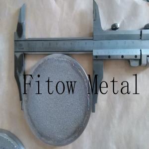 China Stainless Steel Bronze Brass Round Metal Powder Sintered Filter Disc on sale
