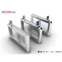 China Face Recognition Swing Gate Turnstiles SS304 Automatic Access Control Gate wholesale