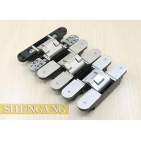 China Completely Concealed Invisible Door Hinges For Heavy - Duty Doors GB Zinc Alloy on sale