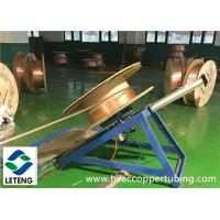 Buy cheap Seamless Copper Insulating Heating Pipes For Refrigeration / HVAC / Air Conditioner from wholesalers