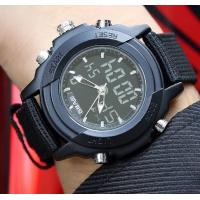 Quality Wholesale Sbao Men Dual Time Waterproof 30m Chronograph Alarm Fashion Sport Wrist Watches  S-9000 for sale