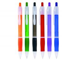 China soft grip rubber plastic ballpoint pen for gift use,logo printed rubber grip logo ball pen wholesale