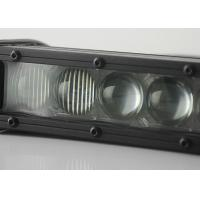 China Single Row 4D Offroad Vehicle LED Light Bar 5W CREE Chips 60 W Combo Beam LedBar wholesale