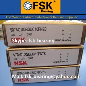 China High Precision Mainshaft Bearing 50TAC100BSUC10PN7B Ball Screw Bearing wholesale