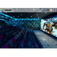 China New Trend Future 4D Movie Theater Equipment Seamless Compatibility With Hollywood Movies wholesale